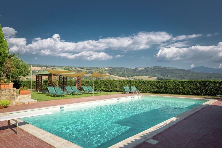 Villas Italie | Toscana | Villa te huur in Montalcino met zwembad  met wifi 18 personen