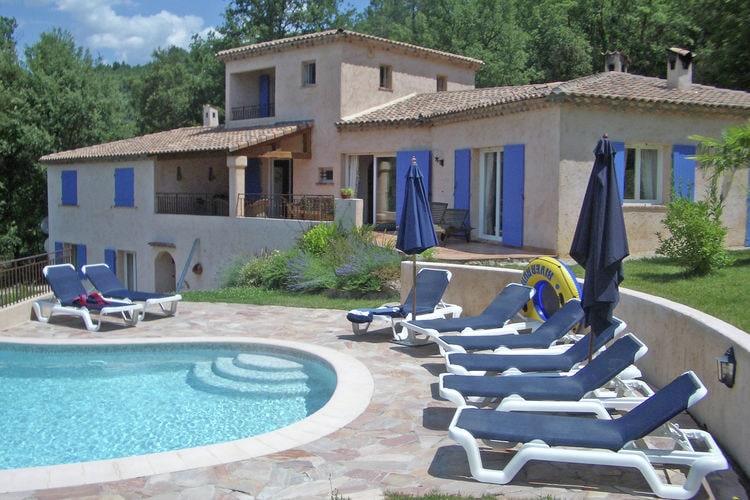 Villa huren in Montauroux - met zwembad  met wifi met zwembad voor 10 personen  Deze, met smaak ingerichte vrijsta..