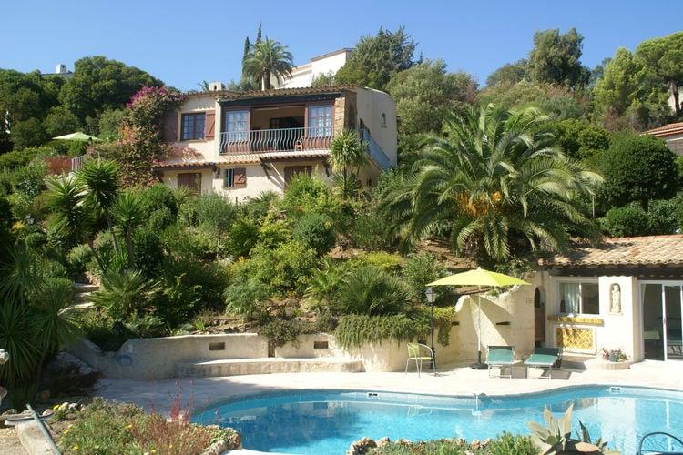 Vakantiehuis met zwembad met wifi  Les-IssambresLes Issambres