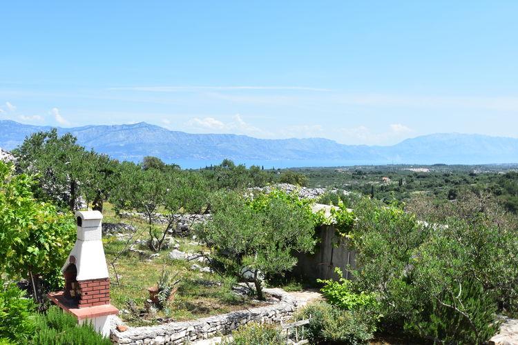 Villa Kroatië, eld, Škrip Villa HR-00002-20
