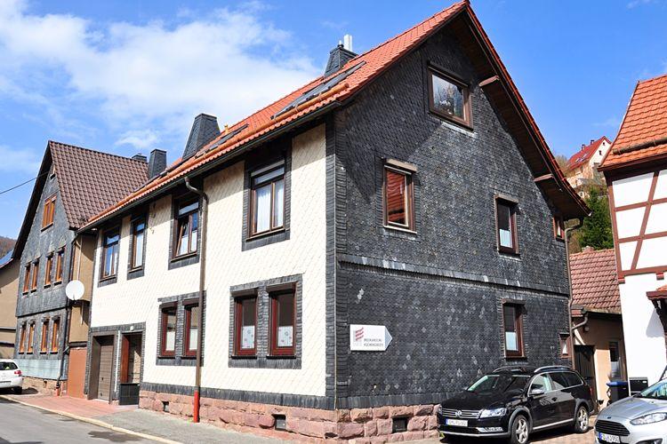 Appartement  met wifi  Steinbach-Hallenberg  Modern appartement met terras, geschikt voor mindervaliden, aan de voet van de Hallenburg