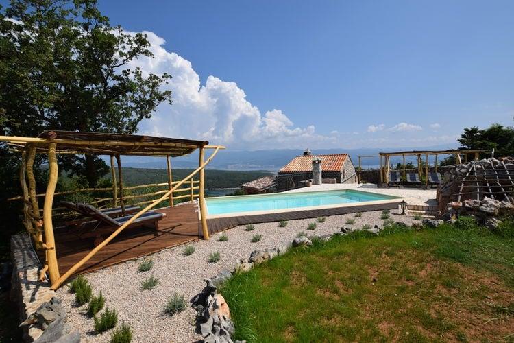 vakantiehuis Kroatië, eld, Vrbnik vakantiehuis HR-00002-21