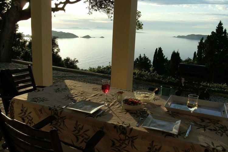Griekenland | Corfu | Villa te huur in AfionasCorfu   met wifi 6 personen