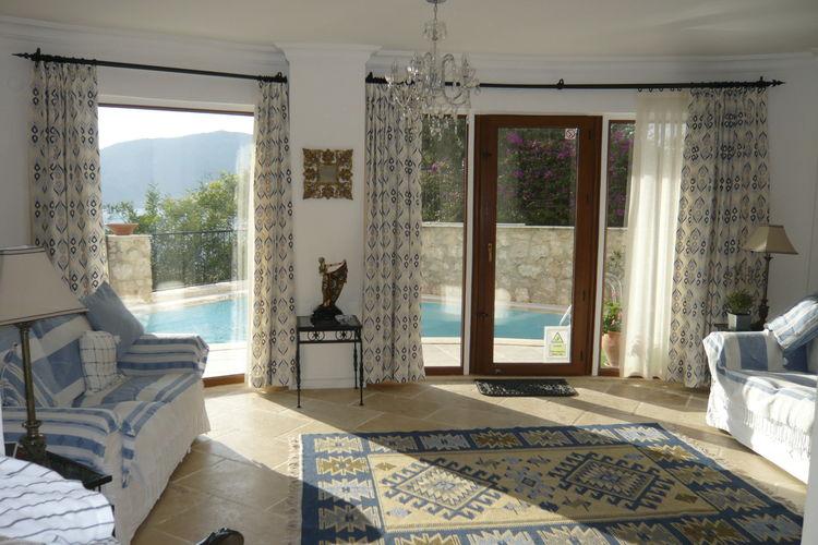 Location maison indépendante vacances Kalkan