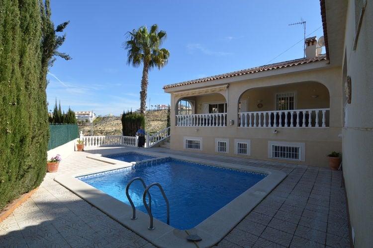 Spanje | Costa-Blanca | Villa te huur in Rojales met zwembad aan zee met wifi 6 personen