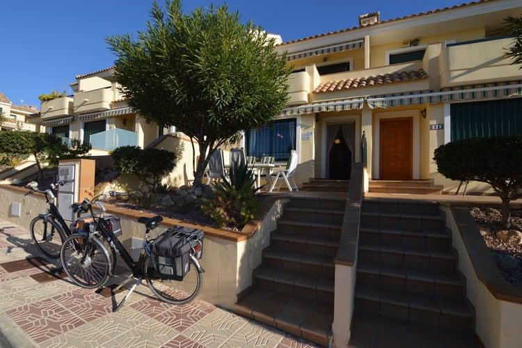 Leuke verzorgde woning in Campoamor met gratis gebruik van twee fietsen