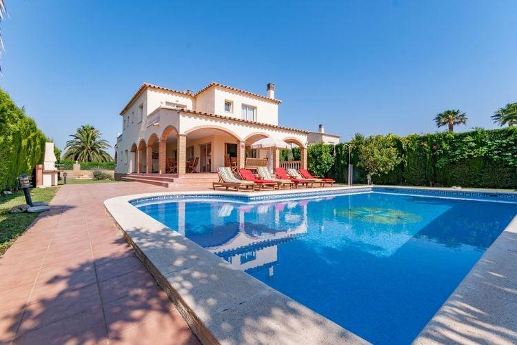 Costa Brava Vakantiewoningen te huur Fantastisch vakantiehuis voor 14 personen gelegen in de haven met privé zwembad