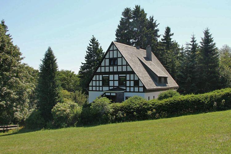 Vrijstaand vakantiehuis op een rustige locatie in de buurt van Winterberg