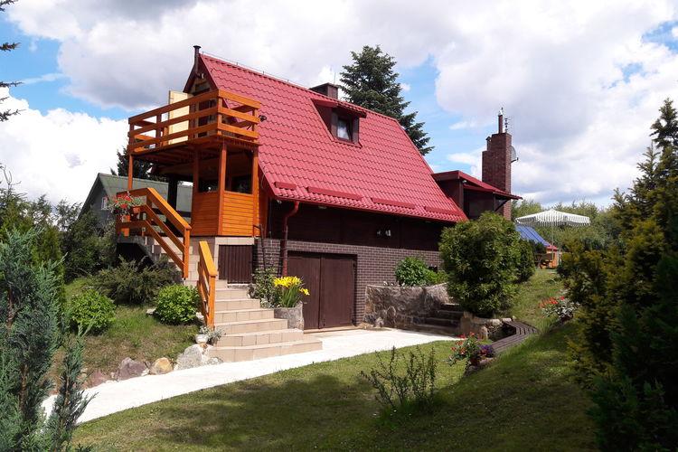 met je hond naar dit vakantiehuis in Brodnica Górna