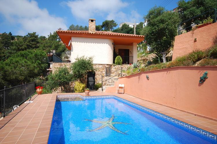 Vakantiehuizen Spanje | Costa-Brava | Villa te huur in Lloret-de-mar met zwembad  met wifi 10 personen