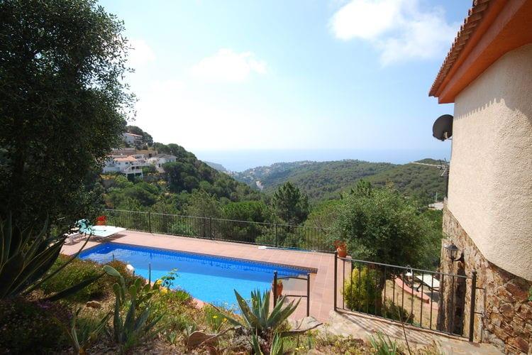 Villa met zwembad met wifi  Lloret-de-marVilla Monica
