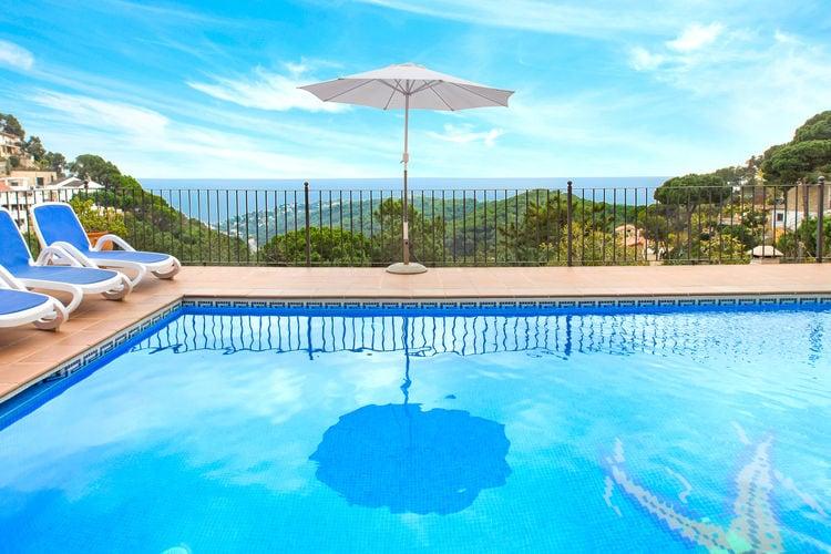 Vakantiewoningen Lloret-de-mar te huur Lloret-de-mar- ES-17310-80 met zwembad  met wifi te huur
