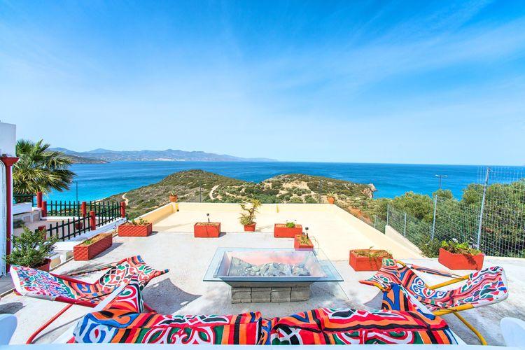 Griekenland Appartementen te huur Anemone nieuwe appartementen, uitzicht op Mirabello baai, bij Agios Nikolaos