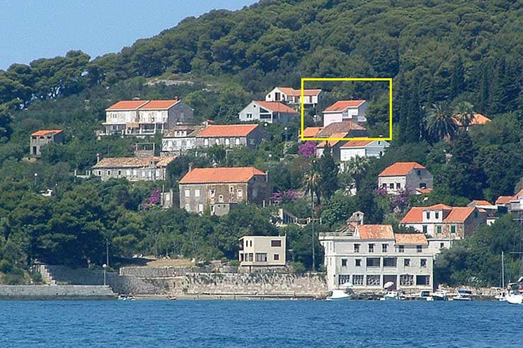 Kroatie | Dalmatie | Villa te huur in Dubrovnik-Island-Kolocep   met wifi 2 personen