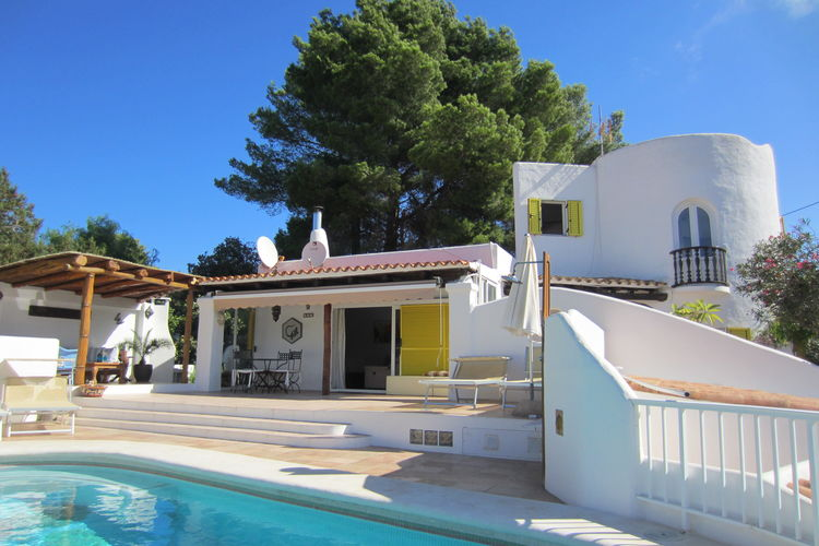 Vakantiehuizen San-Josep te huur San-Josep- ES-07800-20 met zwembad  met wifi te huur