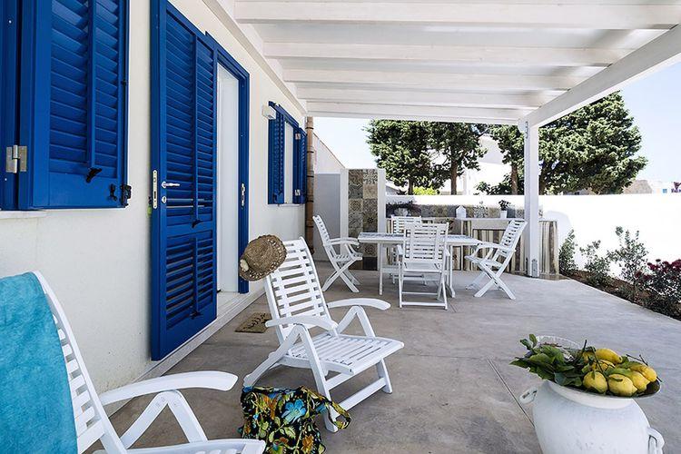 Vakantiehuis  met wifi  San Vito lo Capo  Riccio
