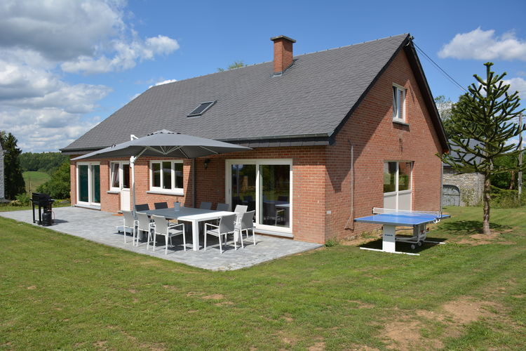 Villas Belgie | Luxemburg | Villa te huur in Wavreille   met wifi 9 personen