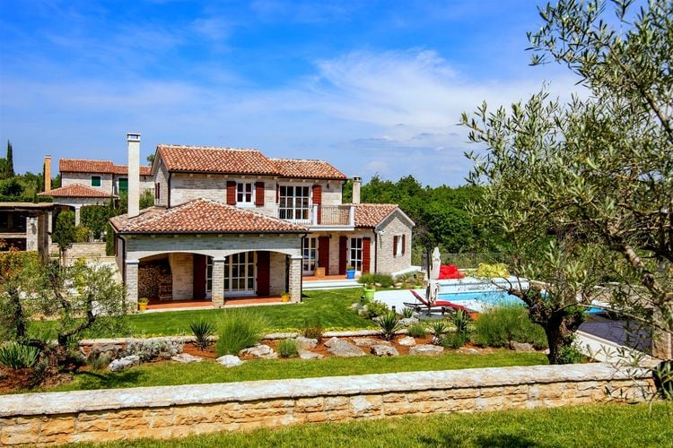 Villa Kroatië, Istrie, Baderna Villa HR-52445-16