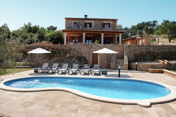 Vakantiehuizen Spanje | Mallorca | Vakantiehuis te huur in Marratxi met zwembad  met wifi 6 personen
