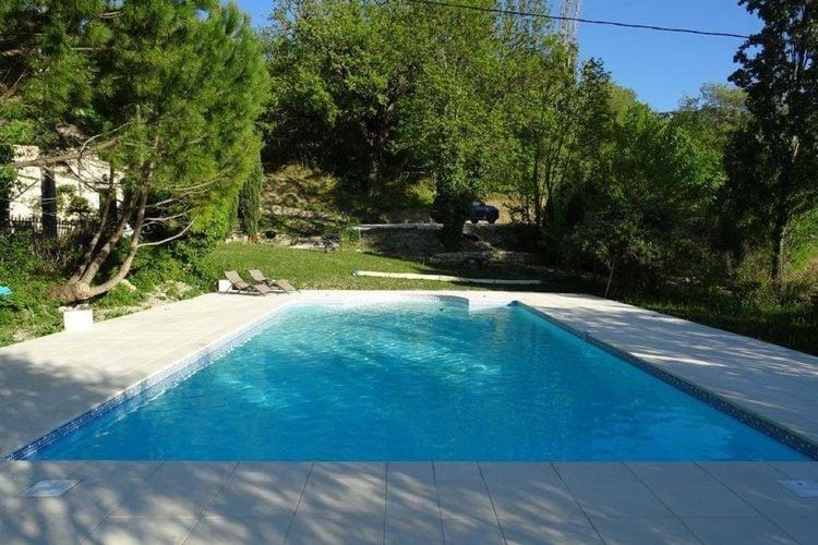 Frankrijk | Drome | Boerderij te huur in Pont-De-Barret met zwembad  met wifi 2 personen