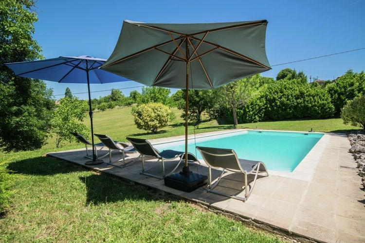 Frankrijk | Midi-Pyrenees | Vakantiehuis te huur in Bourg-De-Visa met zwembad  met wifi 8 personen