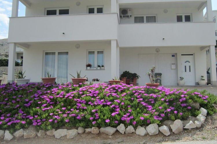 Appartement Kroatië, eld, Pag Appartement HR-00002-65