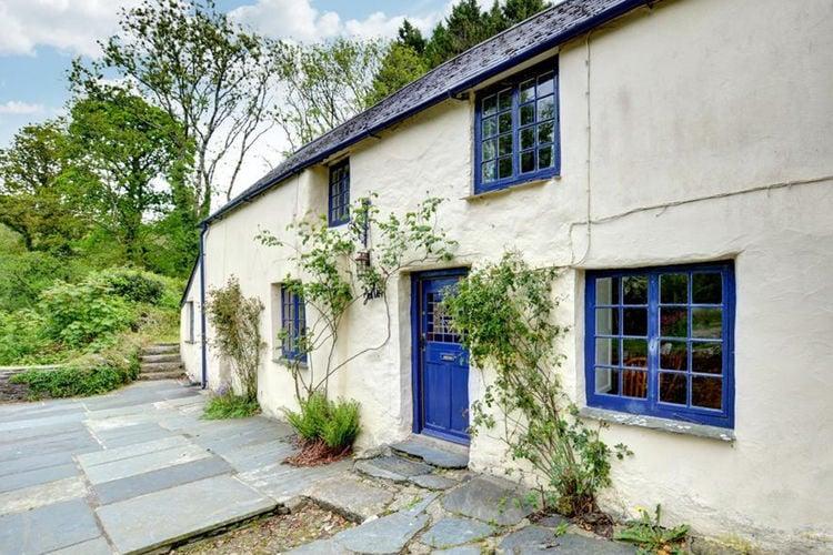Vakantiehuis  met wifi  Cornwall  Merlin Cottage