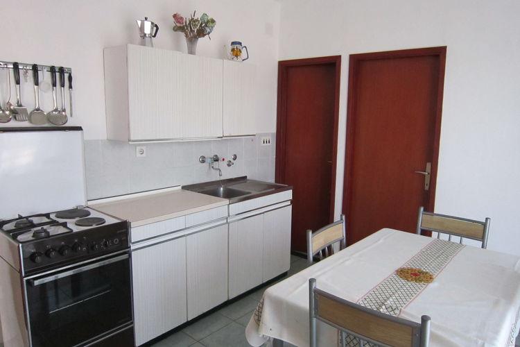 Appartement Kroatië, eld, Pag Appartement HR-00002-68