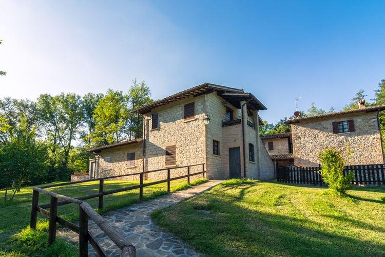 Boerderij Italië, Umbrie, Gubbio Boerderij IT-06024-36