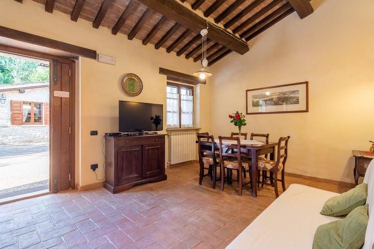 Vakantiehuizen Italie | Umbrie | Boerderij te huur in Gubbio met zwembad  met wifi 6 personen