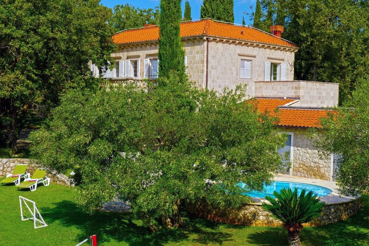 Kroatie / Dalmatie | Villa met zwembad met wifi  - Dubrovnik  Villa Teresy