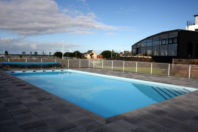 Vakantiehuizen Frankrijk | Bretagne | Appartement te huur in Concarneau met zwembad  met wifi 4 personen