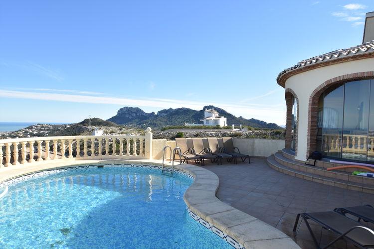 Schitterende villa modern ingericht met zwembad prachtig uitzicht bij Monte Pego