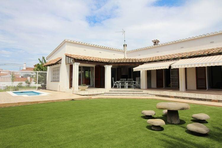 Vakantiehuis met zwembad met wifi  EmpuriabravaVilla Pani