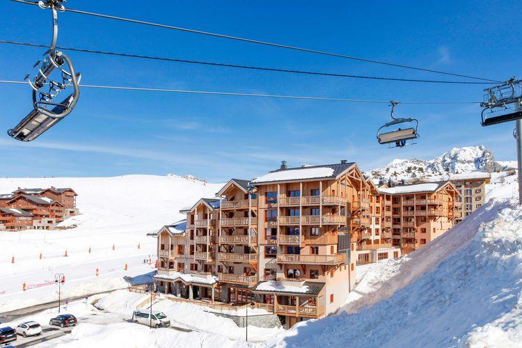 Vakantiehuizen Frankrijk | Rhone-alpes | Appartement te huur in Plagne-Villages met zwembad  met wifi 4 personen