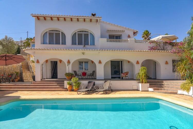vakantiehuis Spanje, Costa Blanca, Moraira vakantiehuis ES-00007-37