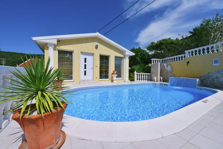 Kroatie | Istrie | Villa te huur in Labin met zwembad  met wifi 6 personen