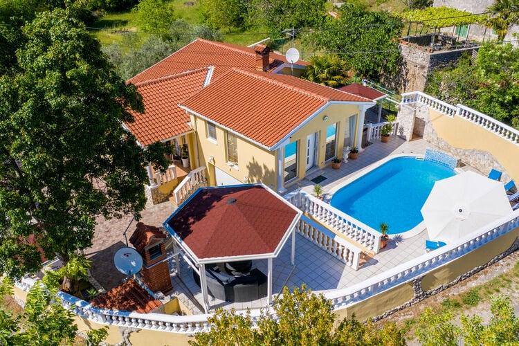 Vakantiehuizen Kroatie | Istrie | Villa te huur in Labin met zwembad  met wifi 6 personen