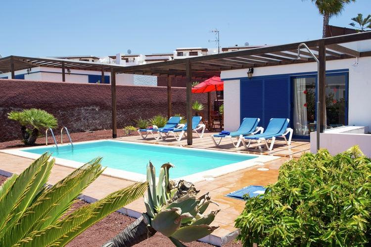 Villa huren in Playa-Blanca - met zwembad  met wifi met zwembad voor 4 personen