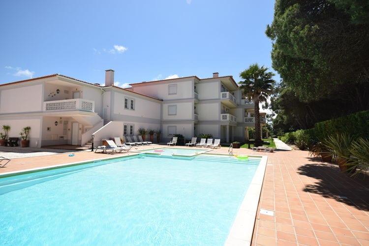 Appartement met zwembad met wifi  LisboaPraia D