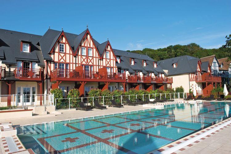 Appartement met zwembad met wifi  HoulgateRésidence Houlgate & Spa 3