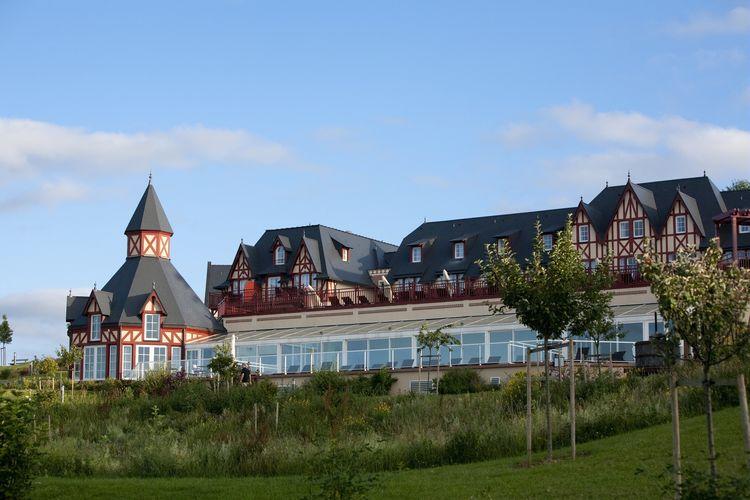 Frankrijk | Normandie | Appartement te huur in Houlgate met zwembad  met wifi 6 personen