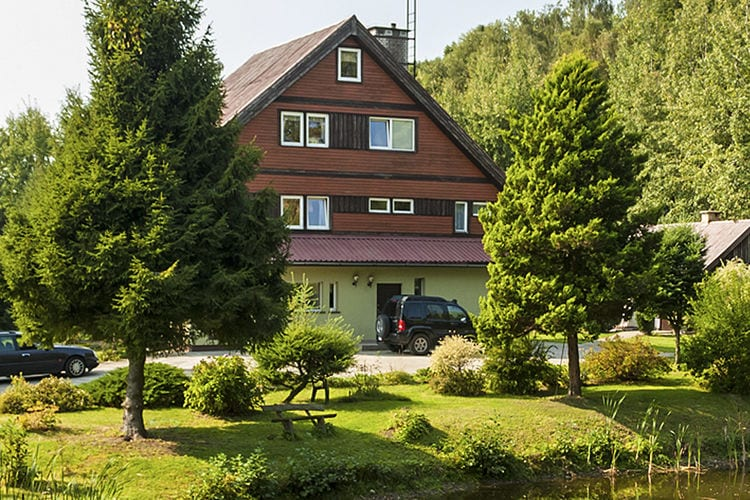 Vakantiehuis  met wifi  Szymbark  House in Kaszubski Park