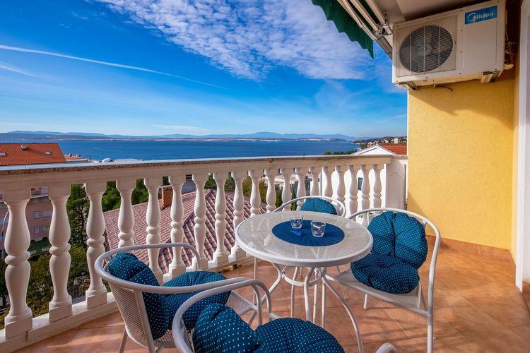 Appartement Kroatië, Kvarner, Crikvenica Appartement HR-00002-98