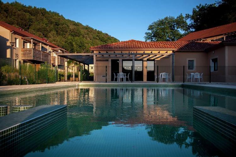 Appartementen Frankrijk | Dordogne | Appartement te huur in Les-Eyzies-de-Tayac met zwembad  met wifi 4 personen