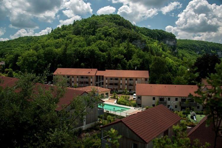 Frankrijk | Dordogne | Appartement te huur in Les-Eyzies-de-Tayac met zwembad  met wifi 6 personen