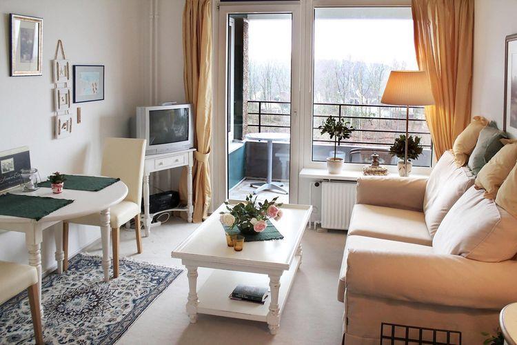 Vakantiehuizen Duitsland | Ostsee | Appartement te huur in Glucksburg-Ostsee    2 personen