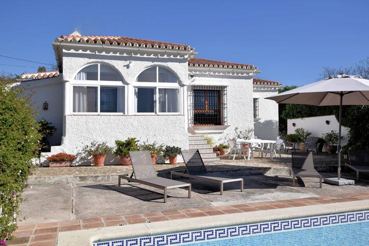 Vakantiewoning huren in Almogia - met zwembad  met wifi met zwembad voor 6 personen  Comfortabel en vrijstaand vakantie..