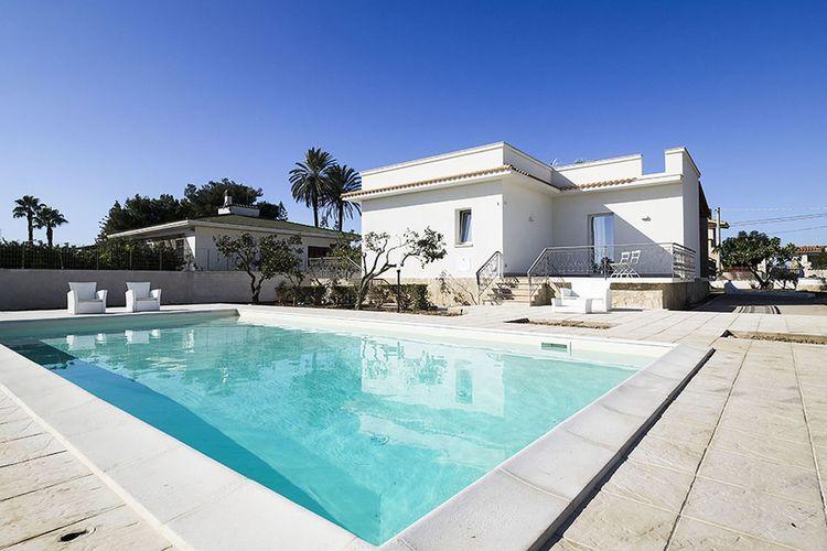 Vakantiehuis met zwembad met wifi  Marsala  Rita