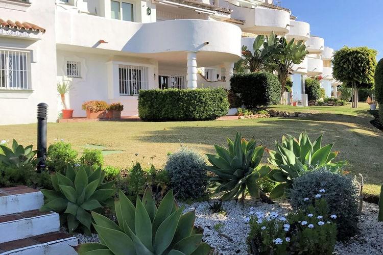 Costa del Sol Vakantiewoningen te huur Heerlijk appartement op de begane grond met prachtig uitzicht op zee